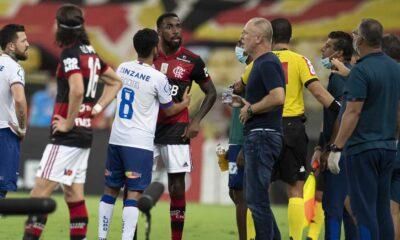 O Bahia perdeu mais uma partida no Campeonato Brasileiro da Série A, na noite deste domingo (20). Desta vez para o Flamengo, no Maracanã, por 4 a 3
