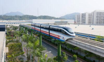 Nesta quinta-feira (dia 8), às 8h30, a primeira composição do VLT do Subúrbio finalizada na fábrica da BYD, na China, será oficialmente