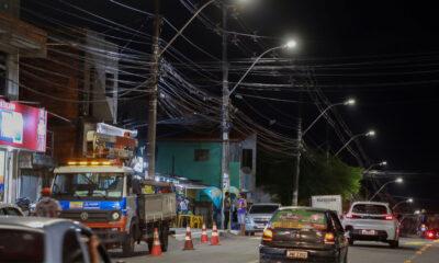 Mussurunga é a mais nova localidade de Salvador a ter iluminação pública modernizada após instalação de 2.660 pontos de LED por meio