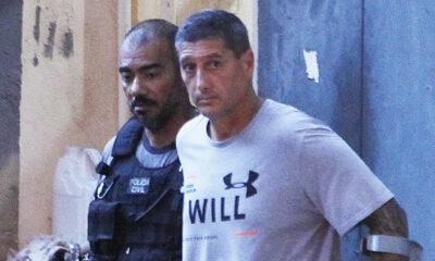 O ex-policial militar Ronnie Lessa e sua esposa, Elaine Pereira Figueiredo, tiveram decretadas prisão preventiva, por crime de lavagem de din