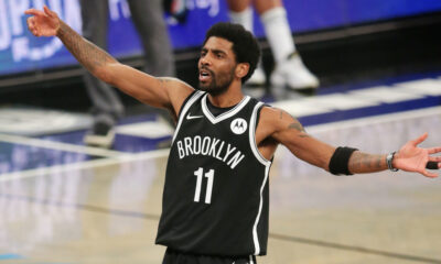 O atleta de 29 anos, Kyrie Irving, grande estrela da NBA, está afastado dos treinos e jogos do Brooklyn Nets devido à sua recusa em receber a