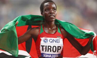 A atleta queniana Agnes Tirop, atual recordista mundial dos 10 mil metros, foi encontrada morta com uma facada no abdômen em sua casa,